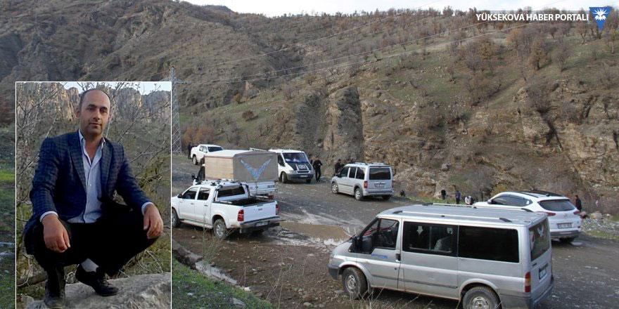 Şemdinli'de, piknikte kayalıklardan düşen vatandaş hayatını kaybetti