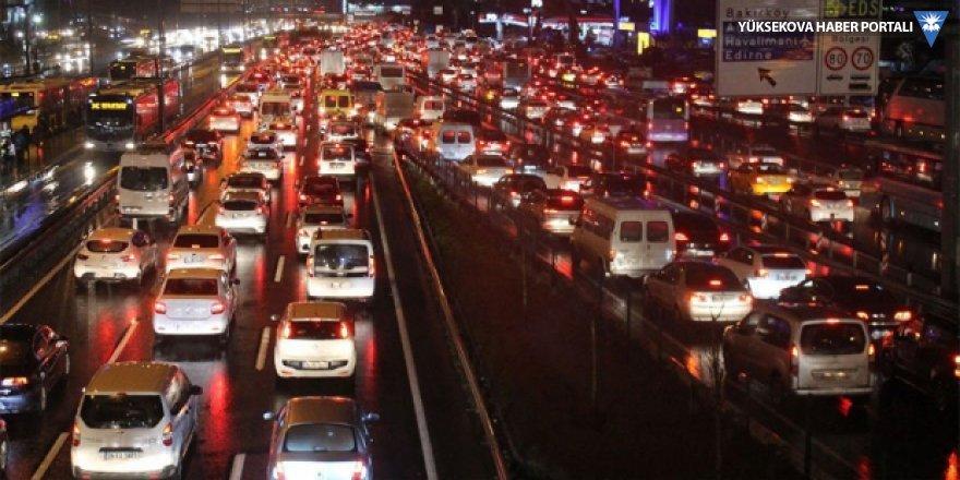 2018'de 8 bin 289 araç trafikten men edildi