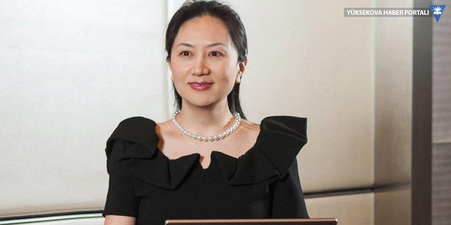 Huawei CFO'su şartlı serbest