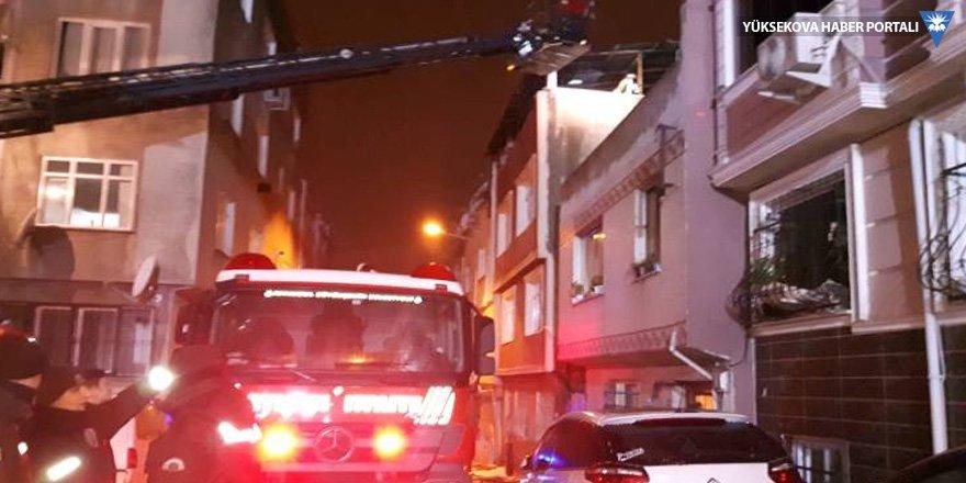 İtfaiye ilerleyemedi, 7 kişi yaralandı