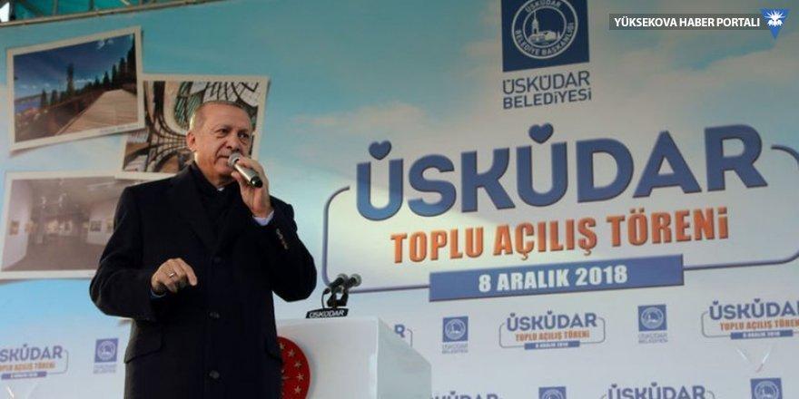 Erdoğan: Umarım 'zulüm 1789'da başladı' yazılarını da görmeyiz