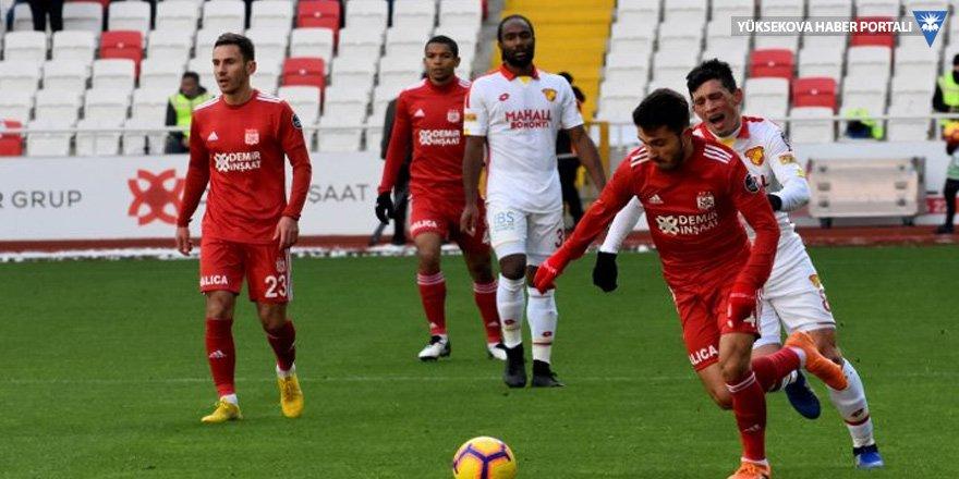 Sivasspor evinde galip!