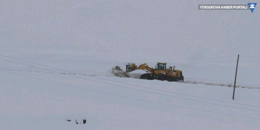 Hakkari'de kar geçit vermiyor
