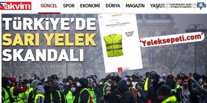 Hepsiburada.com: Sarı yelek satışı sıçramadı