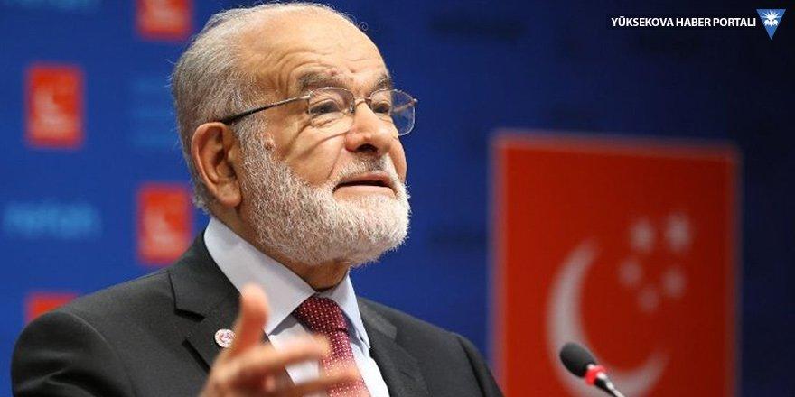 Karamollaoğlu: Siyasi ayak AK Parti'nin kendisidir
