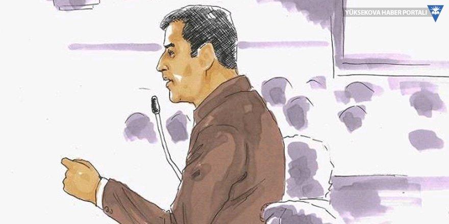 Demirtaş: 3 AKP'li bir HDP'liyi yargılıyor, savunma isteğim yok