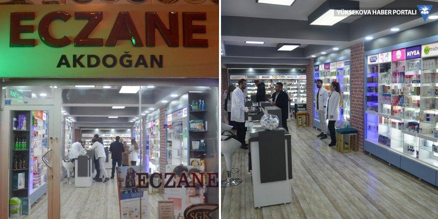 Akdoğan Eczanesi yeni adresine taşındı