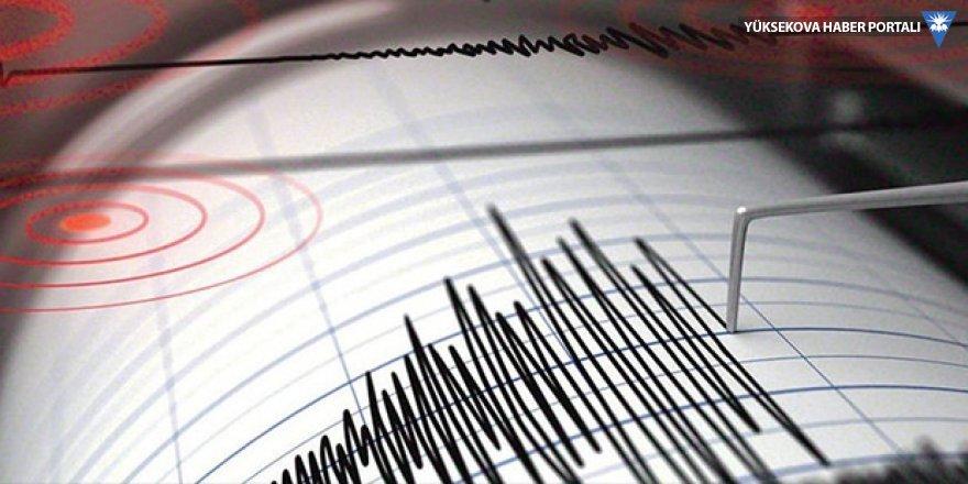 Hatay'da 4 şiddetinde deprem