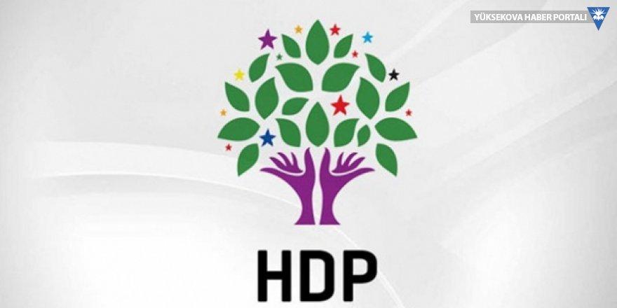 Hdp'den halk toplantısı açıklaması