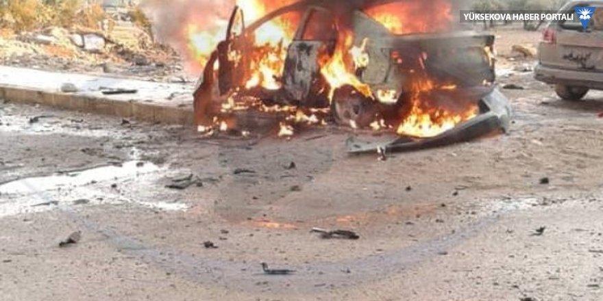 Menbic'de patlama: Bir yaralı