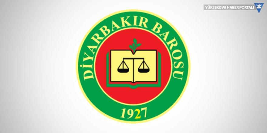 Diyarbakır Barosu hakkında soruşturma başlatıldı