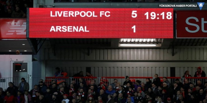 Liverpool 5 -1 Arsenal