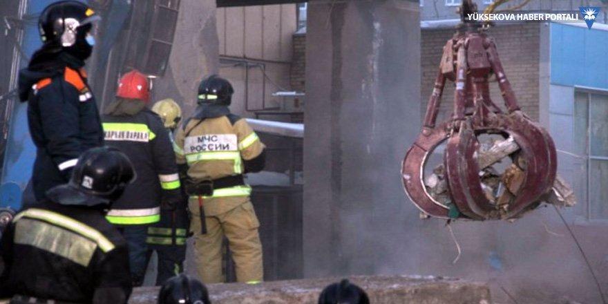 Rusya'da çöken binada hayatını kaybedenlerin sayısı 37'e yükseldi