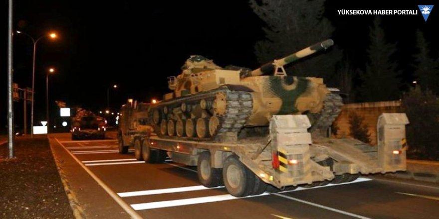 TSK'den Suriye sınırına yeni sevkiyat