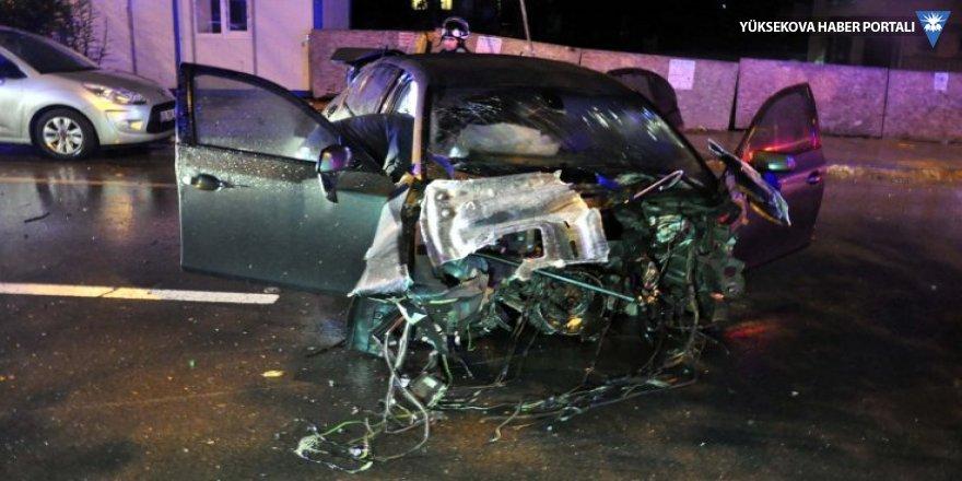 Ankara'da kaza: Dört yaralı