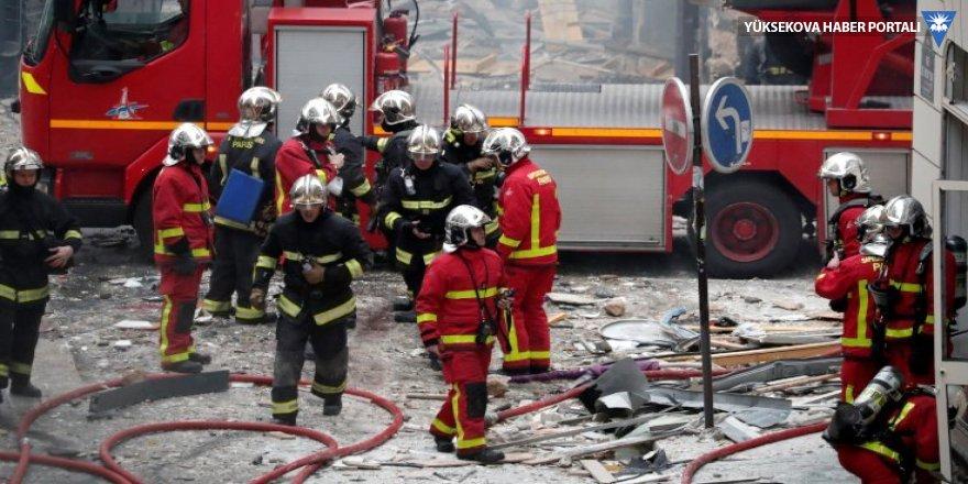 Paris'te gaz patlaması