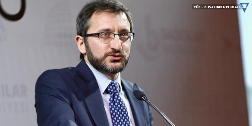 Fahrettin Altun: Basın kartları iptal edilmedi