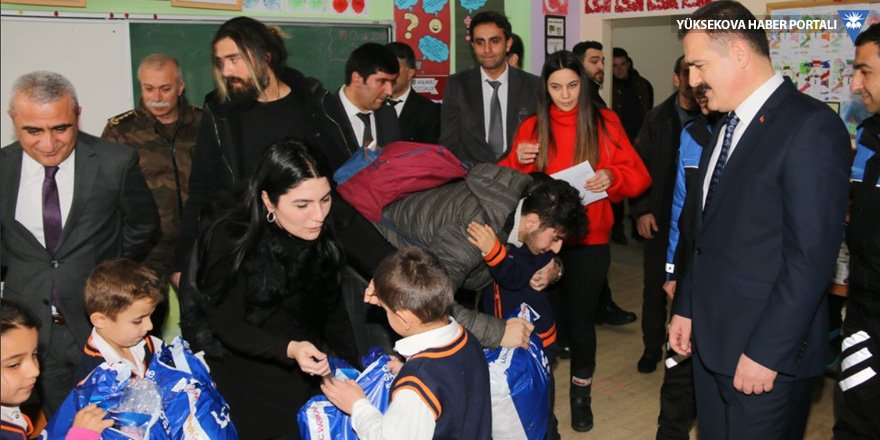 Hakkarili öğrencilere İstanbul'dan yardım eli