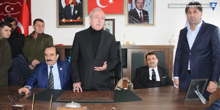 AK Parti'nin Yüksekova adayı belli oldu