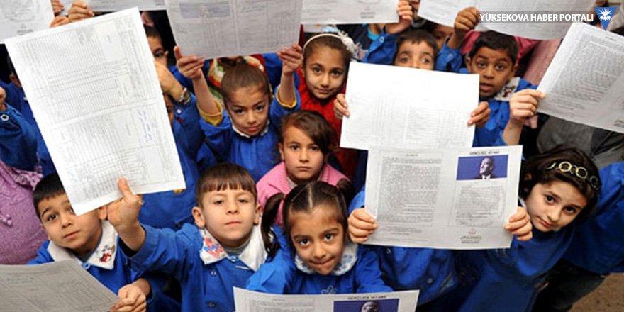 Van, Bitlis ve Hakkari'de 471 bin 110 öğrenci karne heyecanı yaşadı