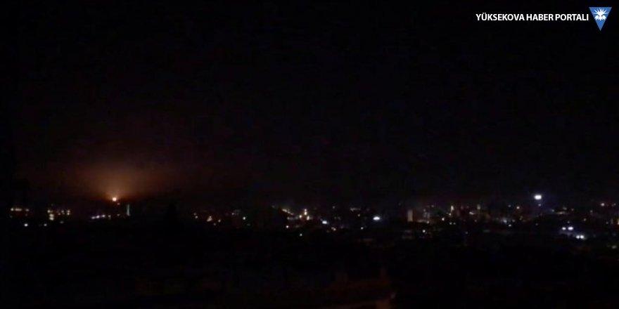 Suriye'ye saldırı: İsrail füzeleri vuruldu