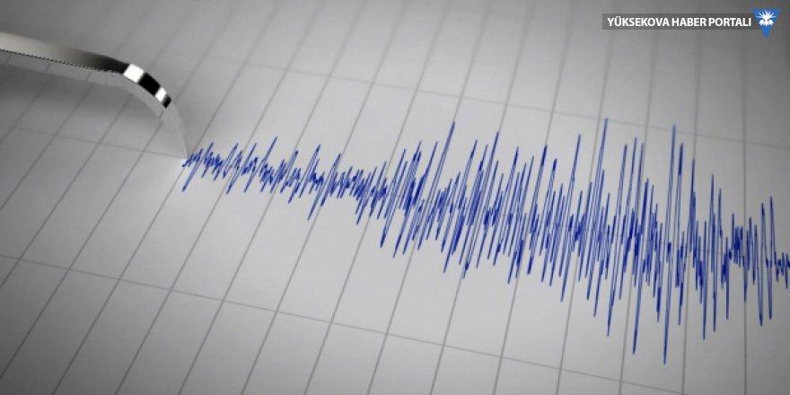 Manisa'da 4,7 büyüklüğünde deprem