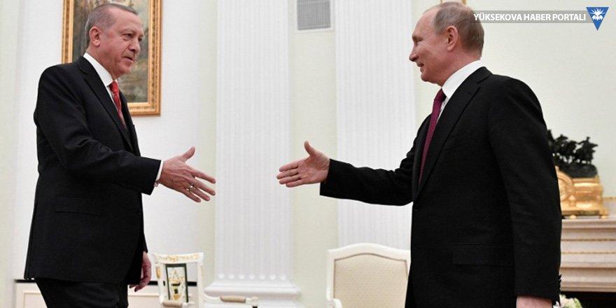 Putin-Erdoğan görüşmesi başladı