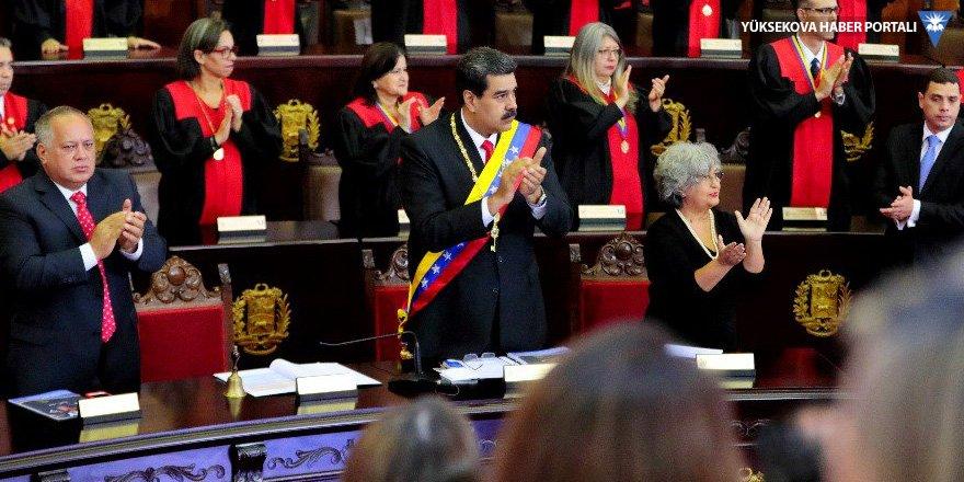 Maduro, Türkiye, Rusya ve Çin'e teşekkür etti