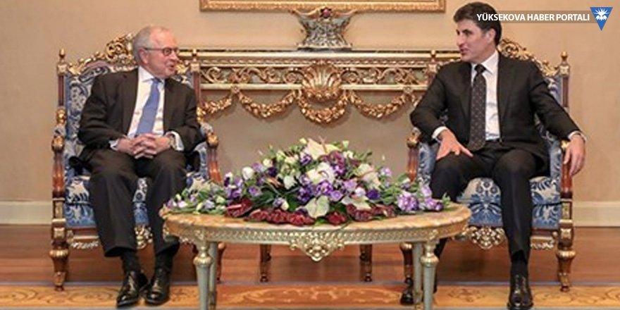 Barzani, İngiliz yargıçları kabul etti