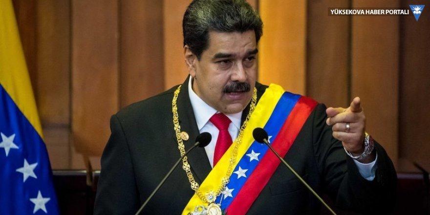 Maduro'dan hodri meydan: Erken seçim