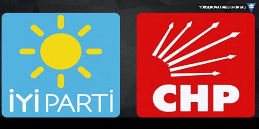 CHP'de adaylar, İYİ Parti'de HDP rahatsızlığı