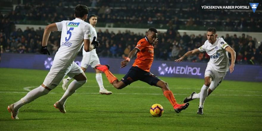 Medipol Başakşehir: 2 - Kasımpaşa: 0