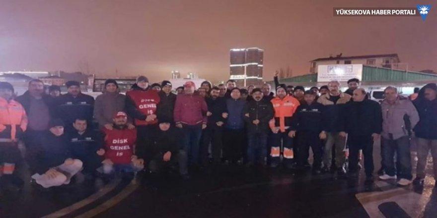 Kadıköy Belediyesi'nde çalışan 2 bin işçi iş bıraktı