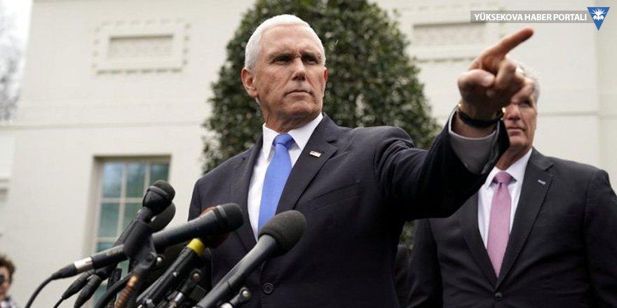 ABD Başkan Yardımcısı Pence'den Türkiye'ye: Sessizce oturmayacağız