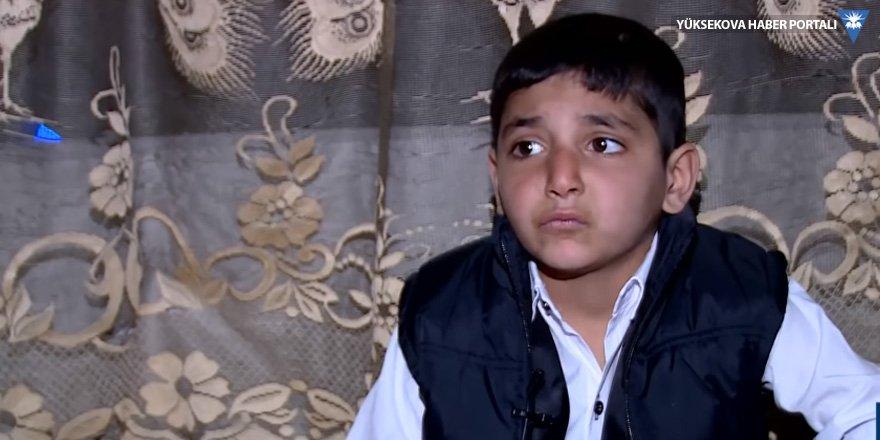 IŞİD'den kurtarılan çocuk: Savaşa zorladılar