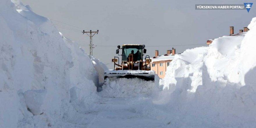 Bitlis'te 150 köy yolu kardan kapandı