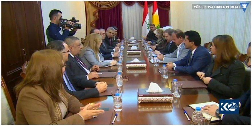 Suriye muhalefeti KDP grubuyla görüştü