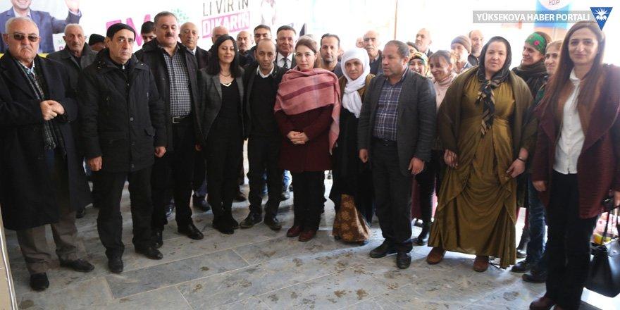 HDP'nin Esendere seçim bürosu açıldı