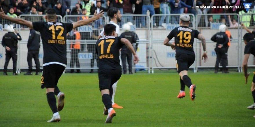 Amedsporlu Burak Taşdemir'den muhteşem röveşata golü