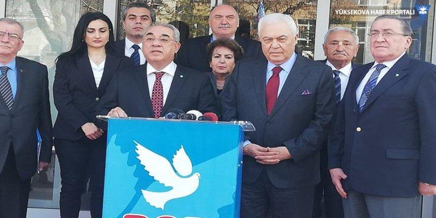 Celal Doğan'ın DSP'den adaylığı kesinleşti