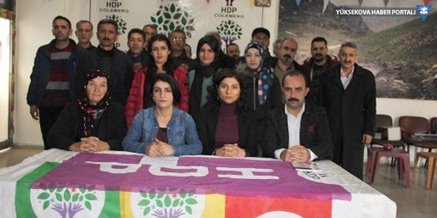 HDP Hakkari'de seçim startını verdi