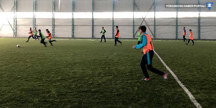 Yüksekova'da U14 Milli Takım seçmeleri yapıldı