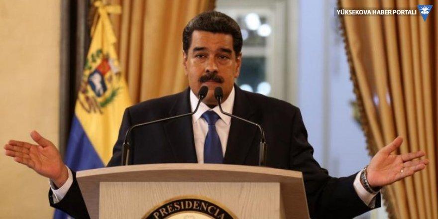Venezuela Devlet Başkanı Maduro: ABD gözlerini Venezuela halkının zenginliklerine dikmiş durumda