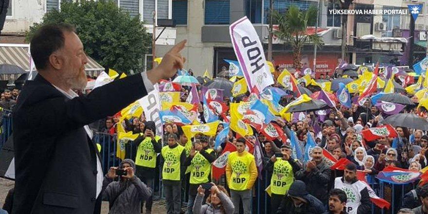 HDP Eşgenel Başkanı Temelli: Leyla Güven 94 gündür iktidara sesleniyor
