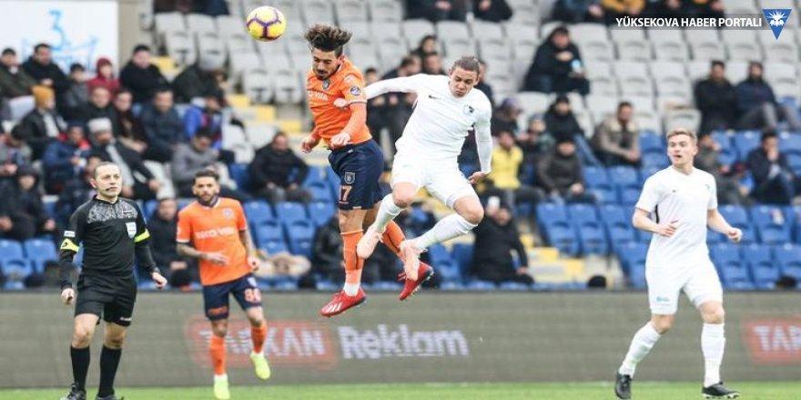 Başakşehir'i Erzurumspor durdurdu!