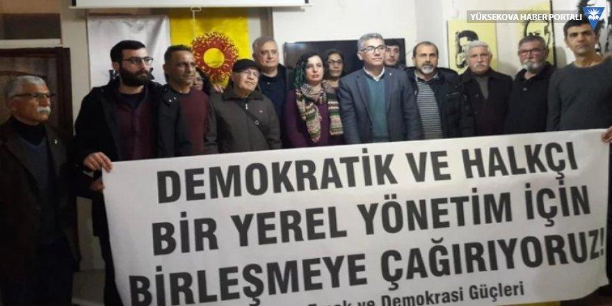 Tarsus'ta dört partiden birlik çağrısı