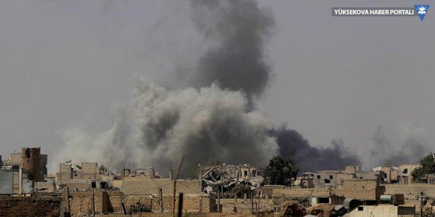 Suriye'ye hava saldırısı: 7'si çocuk 16 ölü