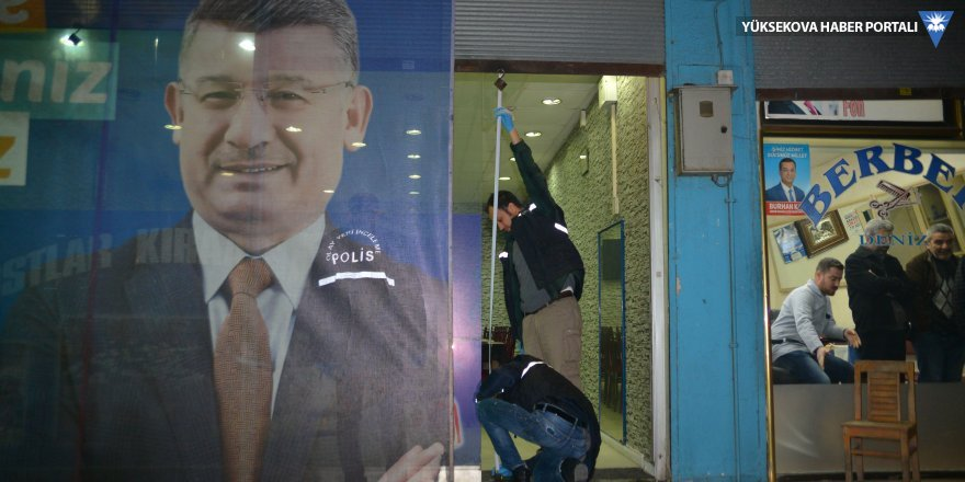 AK Parti'nin seçim bürosuna molotoflu saldırı
