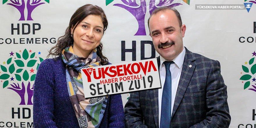 HDP Hakkari Belediye Eş Başkan Adayları Seher Kadiroğlu Ataş ve Cihan Kahraman'la söyleşi