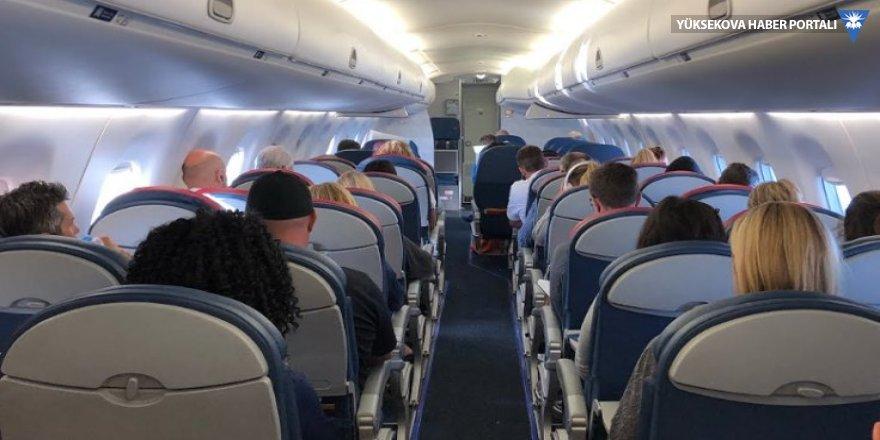 Delta uçağı kalkıştan önce yanmaya başladı!